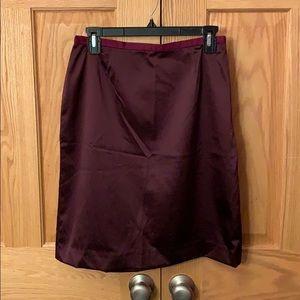 GAP Maroon Skirt